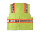 Screen Printed Safety Vests